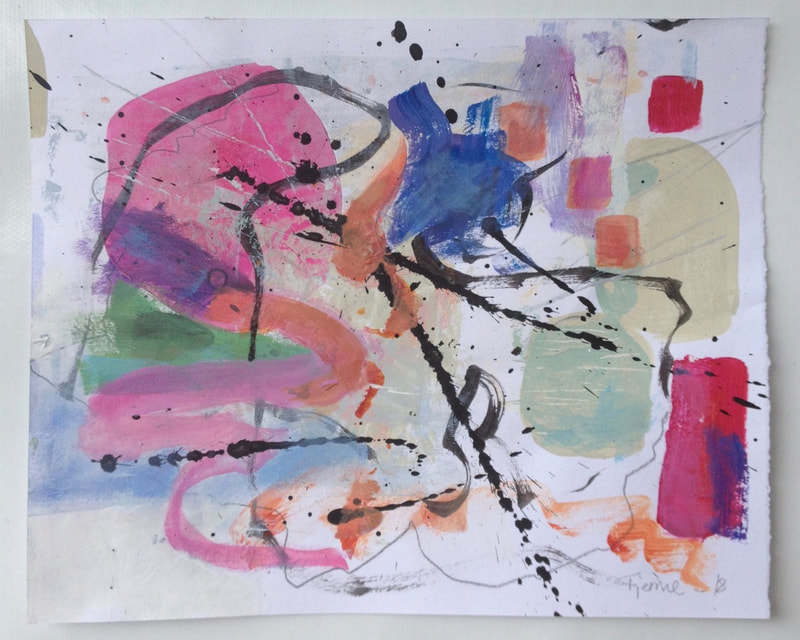 abstract expressionism May Kristin Fjerme